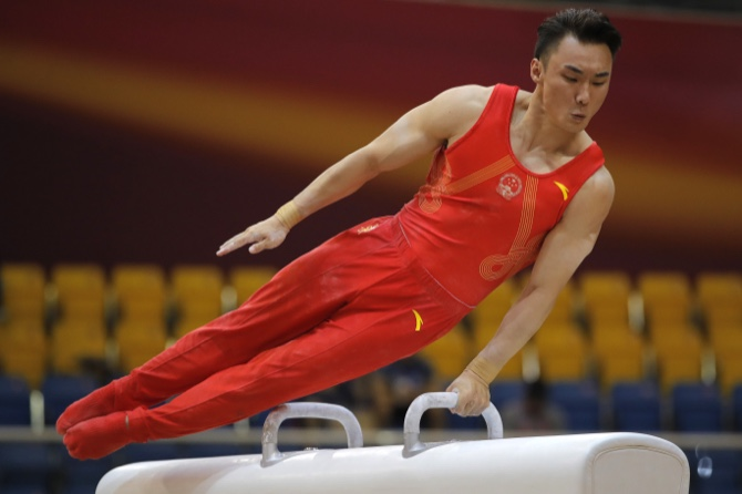 MACAU DAILY TIMES 澳門每日時報 » Gymnastics | China edges Russia for