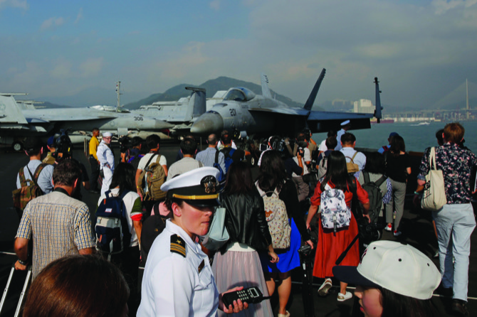 MACAU DAILY TIMES 澳門每日時報 » US carrier in Hong Kong