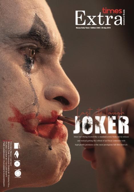 Macau Daily Times 澳門每日時報 Joker Last To Laugh